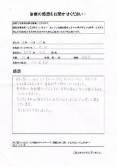 30歳 女性 にきび 名古屋市中村区在住