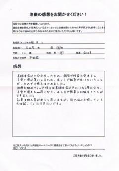 36歳 女性 不妊症 名古屋市港区在住