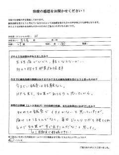 生理痛、多嚢胞卵巣症候群による不妊症 29歳 女性 名古屋市在住